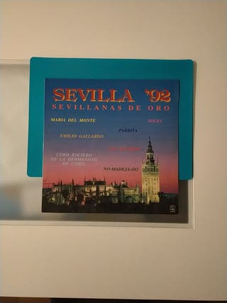 Lp Sevilla 92. Sevillanas de oro.