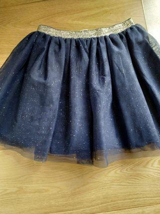 Falda de tul niña T 4_6 años