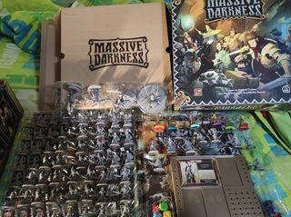 Massive Darkness Inglés + Crossover Green Horde