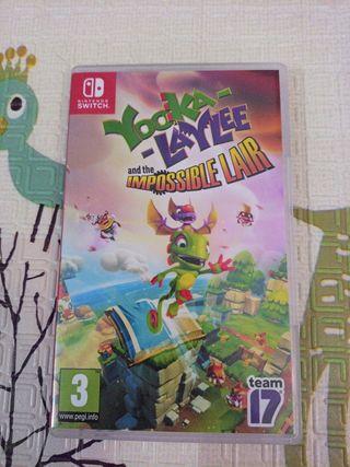 Yooka- laylee imposible Lair Nintendo Switch