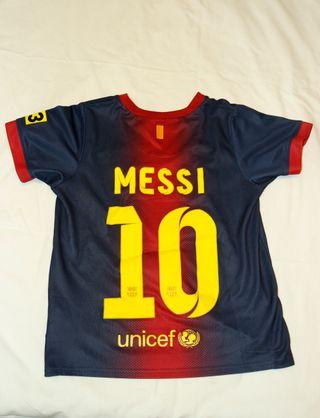 Equipación Barça Messi 7-8 años