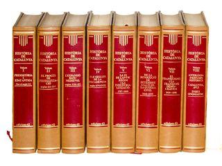 Història de Catalunya en 8 volums