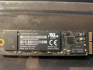 Disco Duro SSD PCIe Apple Original 128GB