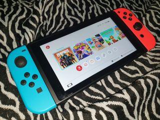 Vendo Nintendo Switch + Juego Súper Mario 3D