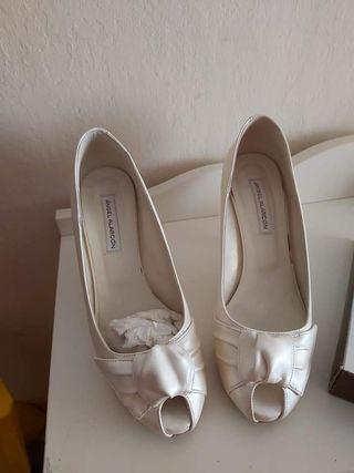 zapatos beige talla 38