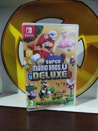 new super Mario Deluxe switch