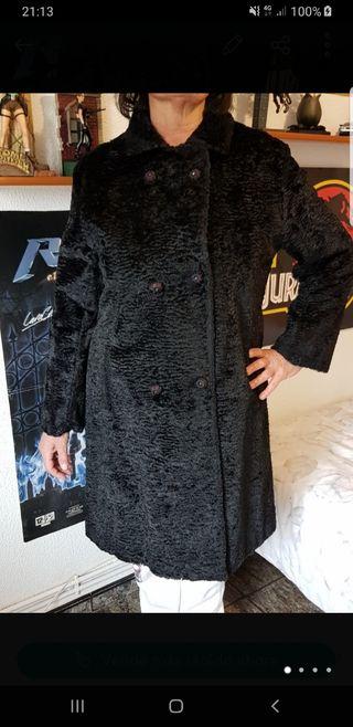 Abrigo astracán talla XL