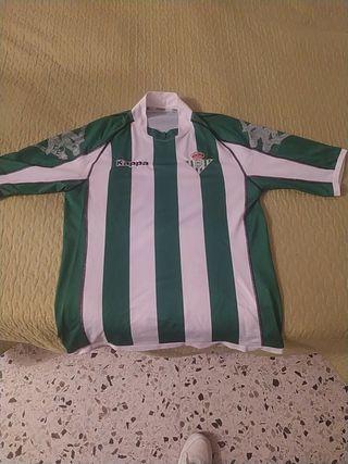 camiseta real Betis champions