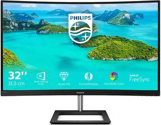 """Monitor Philips 32"""" QHD 2K Curvo Freesync Garantia"""