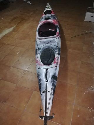 kayak de travesía
