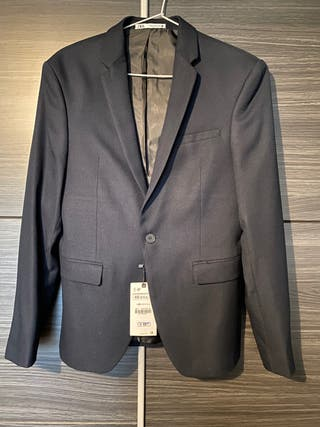 Americana nueva Zara azul marino talla s