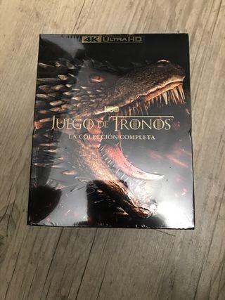 Colección completa Juego de Tronos 4K Ultra HD