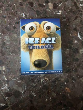 Ice Age 1,2 i 3 en DVD