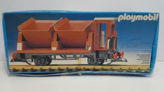 Playmobil 4112 Antiguo Vagon Marron Carga