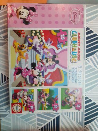 Puzzle de La casa de Mickey Mouse