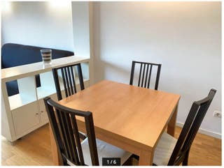 Mesa + Sillas (posibilidad de vender por separado