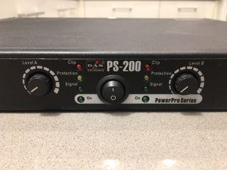 Etapa de potencia DAS PS 200