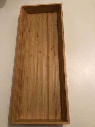 Cubertero de bambú ikea
