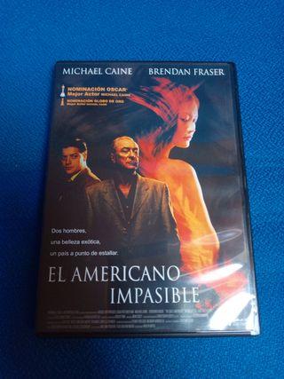 El Americano Impasible DVD.