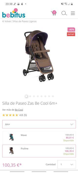 silla de paseo be cool
