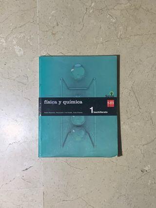 Libro Fisica y Química Savia Santillana 1ºBACH