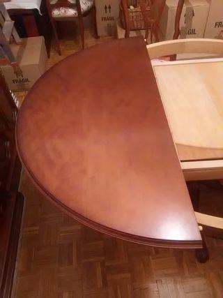 Mesa más sillas