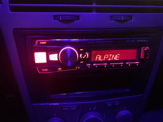 Radio coche alpine Ute 92bt