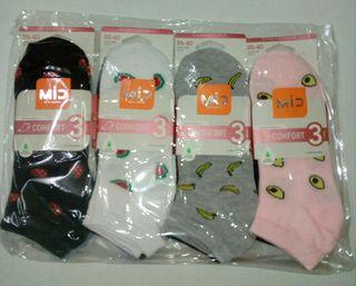 12 pares de calcetines de señora