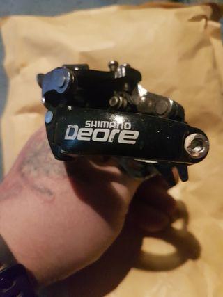Desviador de pedalier SHIMANO deore