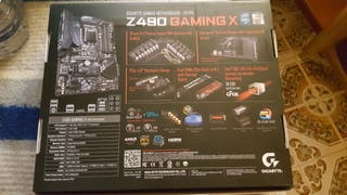 Gigabyte Z490 Gaming X - Placa base 1200 ATX