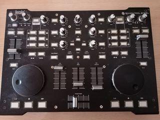 mesa de mezclas dj control steel
