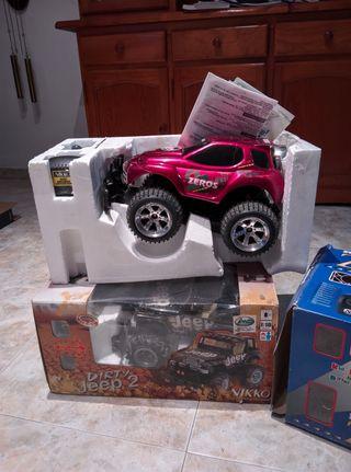 radio control zeros y dirty jeep 2 marca nikko