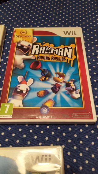 Juego Rayman Raving Rabbids para Wii