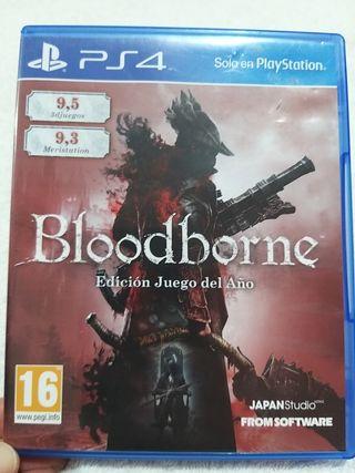PS4/PS5 Bloodborne Goty Edición Juego del año