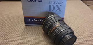 Objetivo Tokina 12-24 Nikon AT-X II Pro