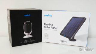 Reolink Argus 2 Cámara Vigilancia con Panel Solar,