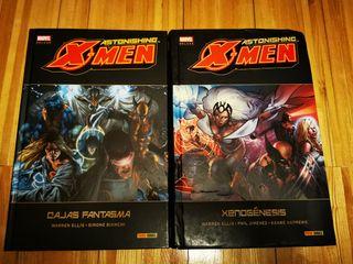 Astonishing X Men de Warren Ellis, completa