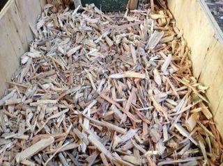 Sacos de astillas de pino