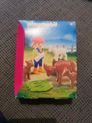 Niña con cabras Playmobil