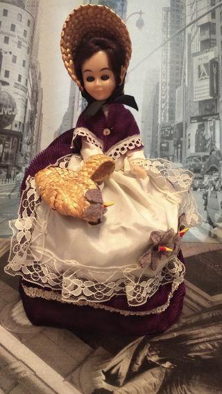 muñeca antigua años 60