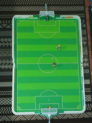 Playmobil campo de futbol