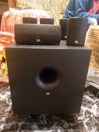 subwofer amplificador 5.1 jbl