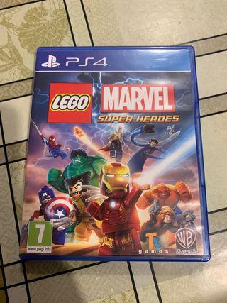 Juego PS4: Lego Marvel Super Heroes