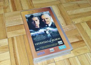 PELICULA LEYENDAS DE PASION VHS PRECINTADA NUEVA