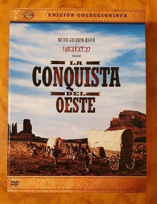 La conquista del Oeste edición coleccionista