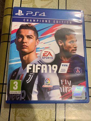 Juego PS4: Fifa19 Champions Edition