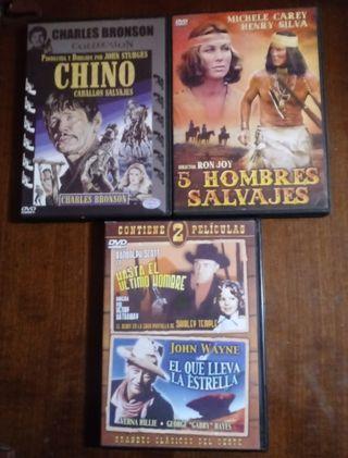 DVDs oeste leer+