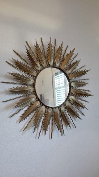 Vintage espejo Sol