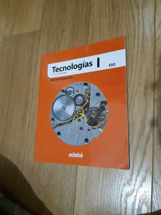 libro de tecnología 1ESO Editorial EDEBÉ.2DA mano