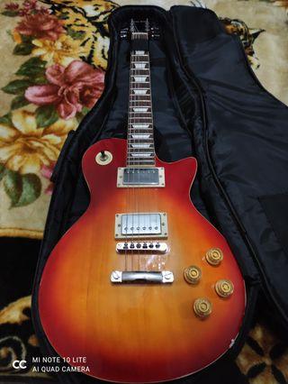 guitarra eléctrica Harley benton tipo les paul